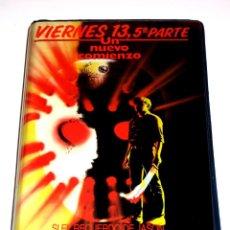 Cine: VIERNES 13 PARTE 5 : UN NUEVO COMIENZO (1985) - MELANIE KINNAMAN COREY FELDMAN VHS 1ª EDICIÓN. Lote 139484314