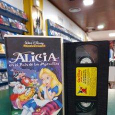 Cine: ALICIA EN EL PAÍS DE LAS MARAVILLAS VHS. Lote 139550713