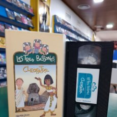 Cine: LES TRES BESSONES CLEOPATRA VHS. Lote 139645902