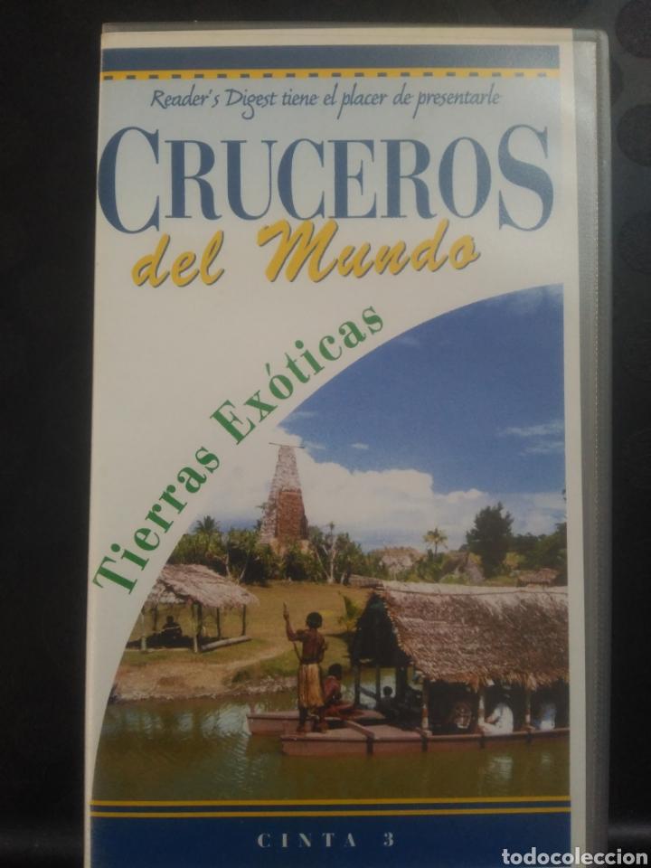 CRUCEROS DEL MUNDO, TIERRAS EXÓTICAS. CINTA 3 VHS (Cine - Películas - VHS)