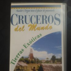 Cine: CRUCEROS DEL MUNDO, TIERRAS EXÓTICAS. CINTA 3 VHS. Lote 139819086
