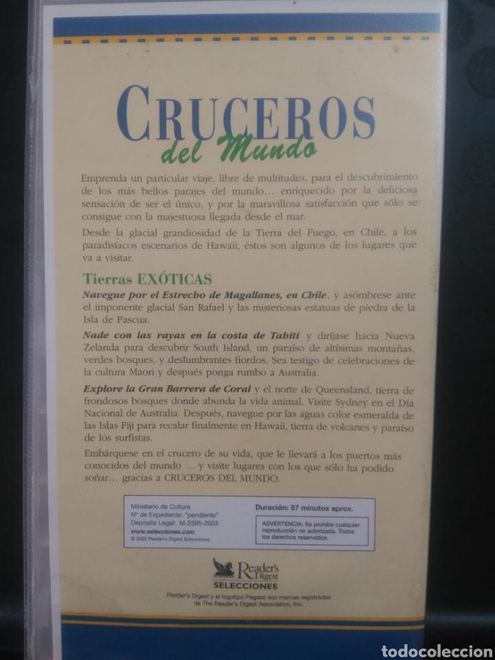 Cine: Cruceros del mundo, tierras exóticas. cinta 3 VHS - Foto 2 - 139819086