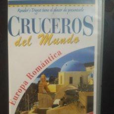 Cine: CRUCEROS DEL MUNDO, EUROPA ROMÁNTICA. CINTA 2 VHS. Lote 139819289