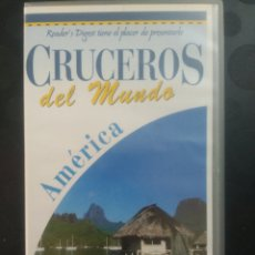 Cine: CRUCEROS DEL MUNDO ,AMÉRICA. CINTA 1 VHS. Lote 139819502