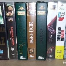Cine: LOTE 8 PELICULAS VHS. Lote 139839394