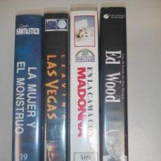 Cine: PELÍCULAS VHS. Lote 139970086