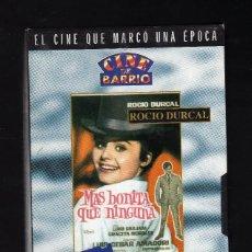 Cine: CINTA VHS: MÁS BONITA QUE NINGUNA - COLECCIÓN ''CINE DE BARRIO / ROCÍO DURCAL'' -. Lote 140286582