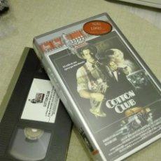 Cine: VHS CINE - VIDEO DIVERSION - 1986 - COTTON CLUB - 350GR. Lote 140321866