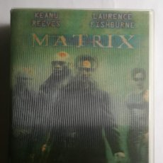 Cine: MATRIX VHS , EDICIÓN ESPECIAL CON CARÁTULA EFECTO 3D. Lote 140394114