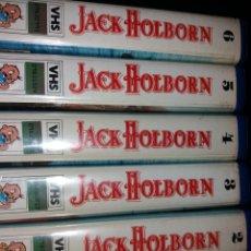 Cine: JACK HOLBORN- VHS- 1982 MINI SERIE ALEMANA DE PIRATAS DESCATALOGADA. Lote 56023639
