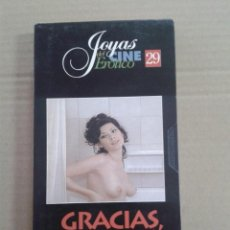Cine: VHS • GRACIAS ABUELITA - MARINO GIROLAMI EDWIGE FENECH VALERIO FIORAVANT. Lote 140584686