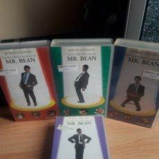 Cine: PACK 4 PELICULAS MR BEAN VHS. Lote 140975778