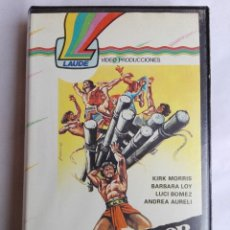 Cine: VHS - EL VENGADOR DE LOS MAYAS - KIRK MORRIS, BARBARA LOY, GUIDO MALATESTA - AVENTURAS. Lote 141516034
