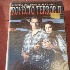 Cine: PROYECTO TERROR 2 (1990) VHS.. Lote 141574346