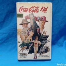 Cine: MUY RARA PELÍCULA EN VHS COCA COLA KID. Lote 141750866
