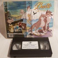 Cine: BALTO VHS DIBUJOS ANIMADOS. Lote 142108454