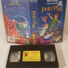 Cine: CLASICOS DE WALT DISNEY PETER PAN VHS DIBUJOS ANIMADOS. Lote 142110342