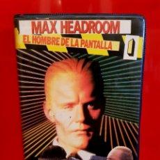 Cine: MAX HEADROOM: EL HOMBRE DE LA PANTALLA (1987) - VOL I (ESTUCHE VIDEOCLUB). Lote 142178774