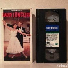 Cine: EDICION ORIGINAL NTSC VHS - DADDY LONGLEGS - FUNDA CARTON - FRED ASTAIRE - LESLIE CARON. Lote 142287230