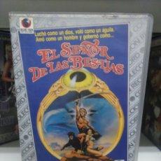 Cine: EL SEÑOR DE LAS BESTIAS. VHS.. Lote 142316949