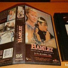 Cine: VHS: LA VERDAD HISTORIA DE HAMLET: PRINCIPE DE DINAMARCA - HELEN MIRREN. Lote 142431554