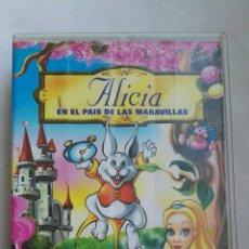 Cine: ALICIA EN EL PAÍS DE LAS MARAVILLAS VHS. Lote 142514850