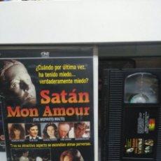 Cine: SATAN MON AMOUR. VHS.( CAJA GRANDE).. Lote 142572212