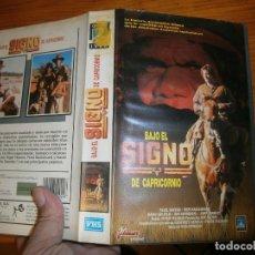 Cine: ¡BAJO EL SIGNO DE CAPRICORNIO,CAJA GRANDE¡¡DISPONEMOS DE MAS,DE,60.000,PELICULAS VHS,BETA,2000,. Lote 142798678
