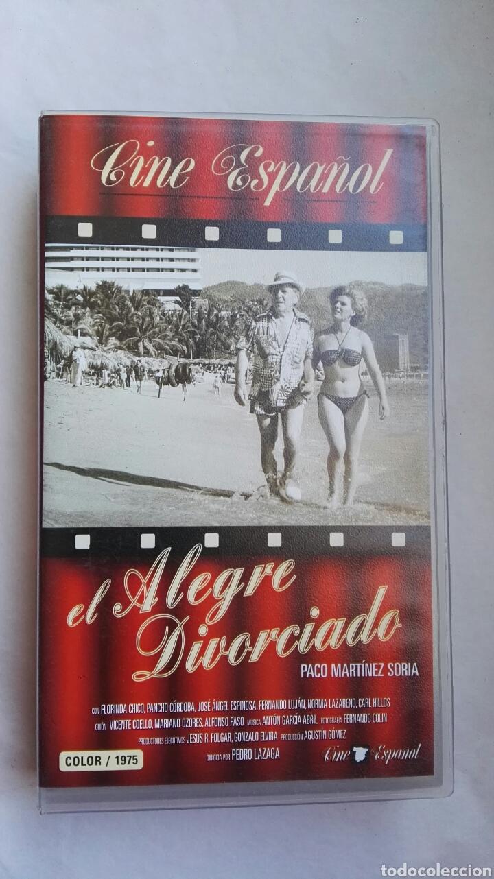 EL ALEGRE DIVORCIADO VHS PACO MARTÍNEZ SORIA (Cine - Películas - VHS)