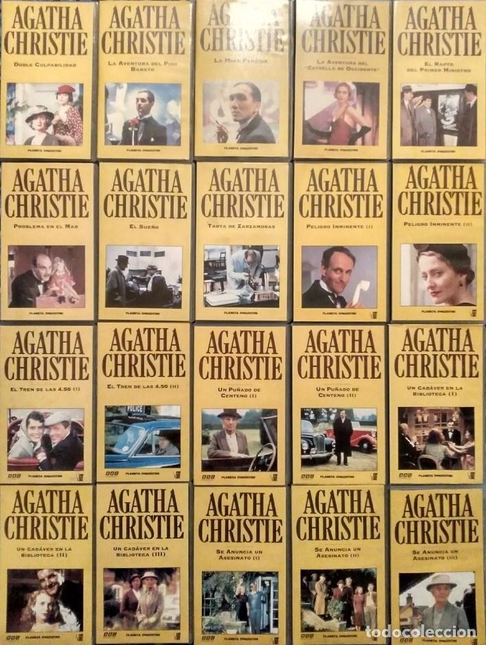Cine: Serie ''Agatha Christie'' - Colección completa de 40 capítulos (VHS) - Planeta DeAgostini - Foto 2 - 142833702