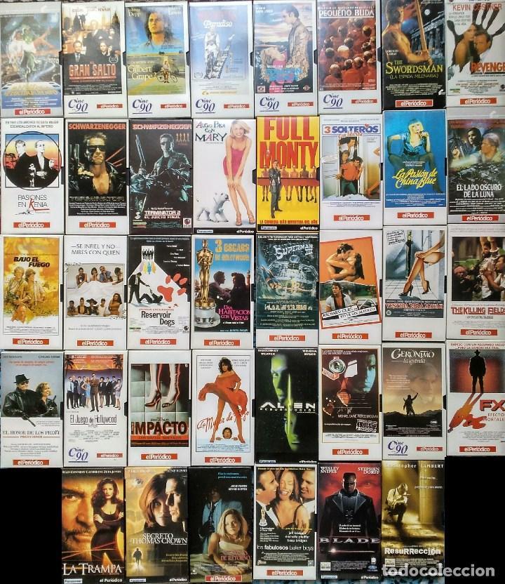 DIARIO ''EL PERIÓDICO'' - COLECCIÓN DE 39 PELÍCULAS (VHS) (Cine - Películas - VHS)