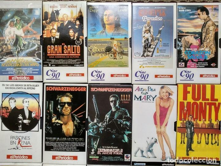 Cine: Diario ''El periódico'' - Colección de 39 películas (VHS) - Foto 2 - 142833706