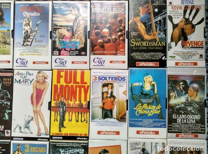 Cine: Diario ''El periódico'' - Colección de 39 películas (VHS) - Foto 3 - 142833706