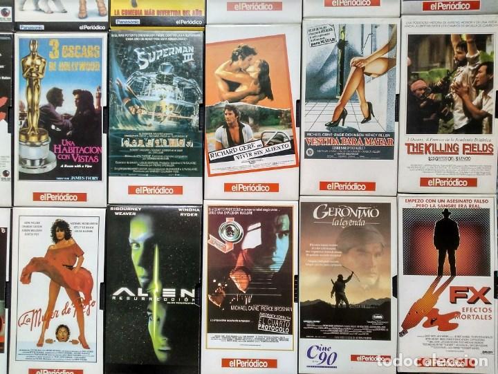 Cine: Diario ''El periódico'' - Colección de 39 películas (VHS) - Foto 4 - 142833706