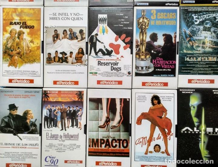 Cine: Diario ''El periódico'' - Colección de 39 películas (VHS) - Foto 5 - 142833706
