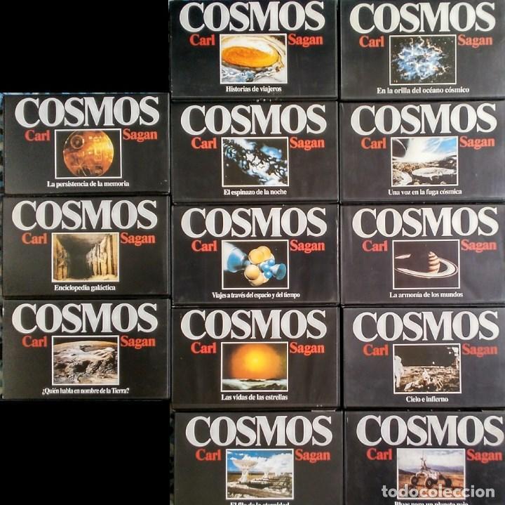 Cine: Colección de 65 documentales ''Fenómenos extraños'', ''Cosmos'' y ''Universo'' (VHS) - Foto 4 - 142833726