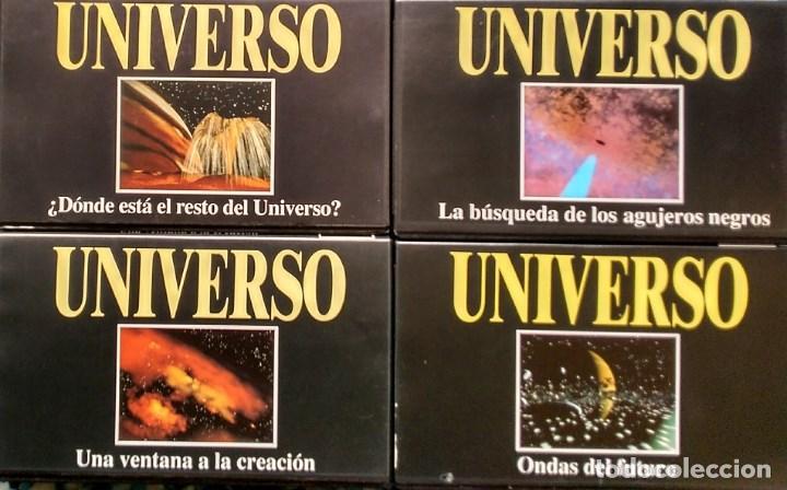 Cine: Colección de 65 documentales ''Fenómenos extraños'', ''Cosmos'' y ''Universo'' (VHS) - Foto 5 - 142833726