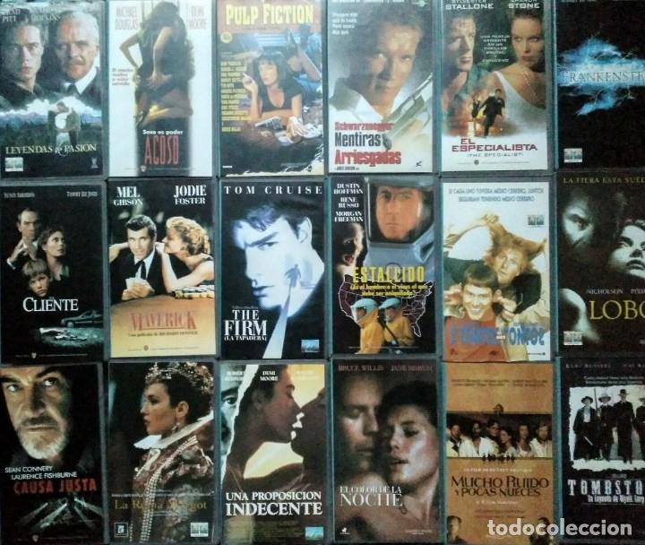 ''LOS ÚLTIMOS ÉXITOS DEL CINE'' - COLECCIÓN DE 36 PELÍCULAS (VHS) - 1993-1999 (Cine - Películas - VHS)