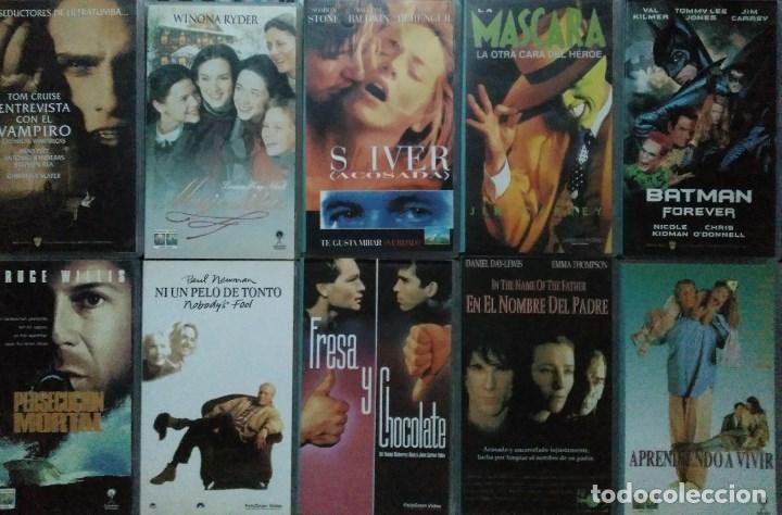Cine: ''Los últimos éxitos del cine'' - Colección de 36 películas (VHS) - 1993-1999 - Foto 3 - 142833734
