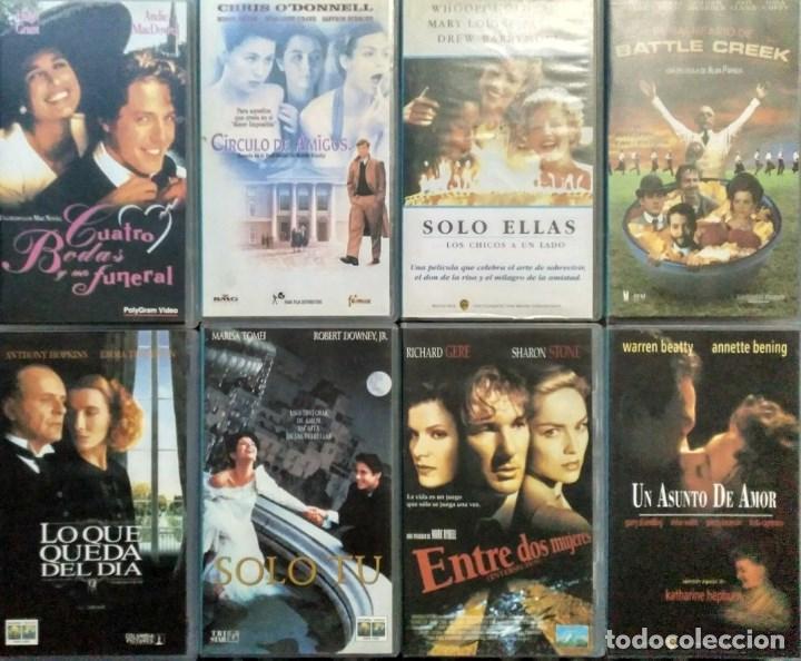 Cine: ''Los últimos éxitos del cine'' - Colección de 36 películas (VHS) - 1993-1999 - Foto 4 - 142833734
