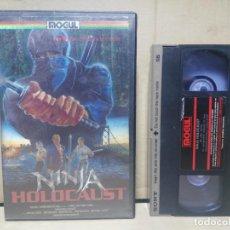 Cine: NINJA HOLOCAUST ( CARÁTULA HOLOGRÁFICA)1987.. Lote 143066602
