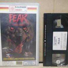 Cine: FEAR, EL TERROR QUE NOS ACOMPAÑA.1985.. Lote 143068978