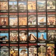 Cine: ''ENIGMAS DEL PASADO'' - COLECCIÓN DE 22 DOCUMENTALES (VHS). Lote 143112194
