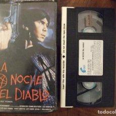 Cine: LA NOCHE DEL DIABLO - LOU DIAMOND PHILLIPS , TRACY GRIFFITH , JEFF KOBER - FILMAYER 1991. Lote 143135422