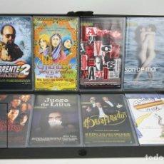 Cine: ESTUCHE CON 8 PELÍCULAS ORIGINALES VHS - LOLAFILMS PROPUESTAS PARA LOS PREMIOS GOYA 2001. Lote 143299250