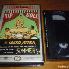 Cine: TIP Y COLL . EL SEXO ATACA . VHS LEER. Lote 143793934