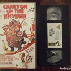 Cine: CARRY ON UP THE KHYBER - GERALD THOMAS - SIDNEY JAMES , KENNETH WILLIAMS - VIC 1995 INGLES. Lote 143809938
