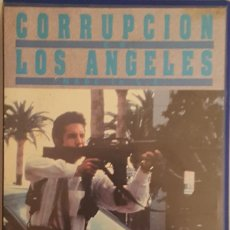 Cine: CORRUPCIÓN EN LOS ANGELES (L.A. TAKEDOWN) 1989 MICHAEL MANN VHS. Lote 143815906