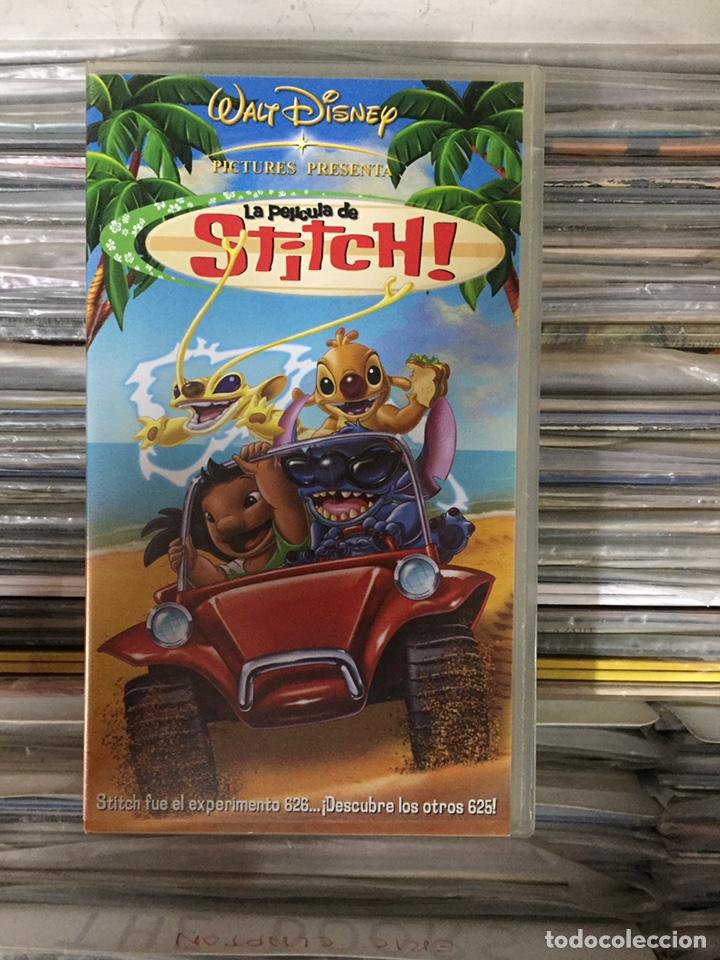 La Pelicula De Stitch Walt Disney Vhs Comprar Peliculas De