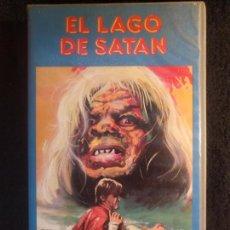 Cine: EL LAGO DE SATAN VHS. Lote 144123068